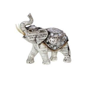 400520 - Old paper Elephant - 28x11.5x25.5cm