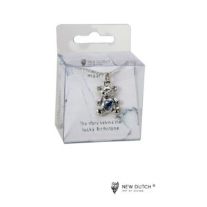 400962 - Ketting Bear Maart - Aquamarine
