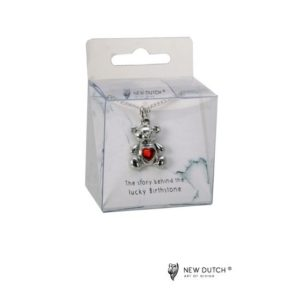 400966 - Ketting Bear - Juli - Ruby