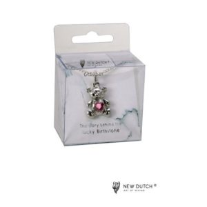 400969 - Ketting Bear - Oktober - Tourmaline