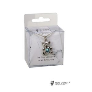 400971 - Ketting Bear - December - Turquoise