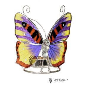 500246 - Tiffany Tealightholder Butterfly