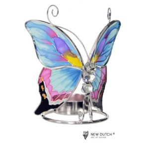 500247 - Tiffany Tealightholder Butterfly