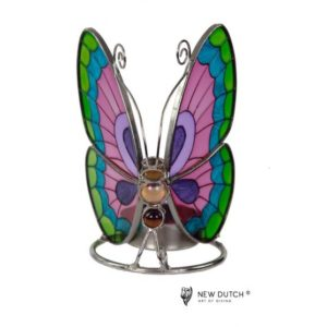500249 - Tiffany Tealightholder Butterfly