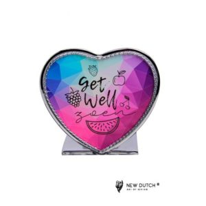 500875 - Tealightholder Stay Positive - Get Well