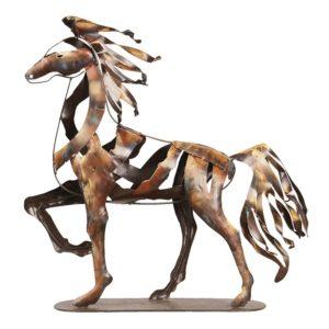 5ART0017 - Beeld paard - 49*12*50 cm