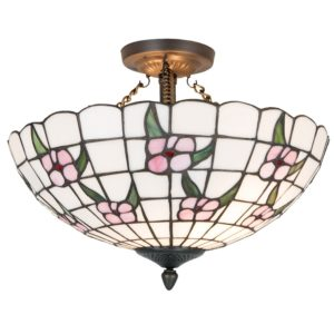 5LL-5191 - Plafondlamp Tiffany - Ø 42*31 cm