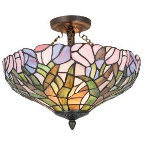 5LL-5192 - Plafondlamp Tiffany - Ø 41*31 cm