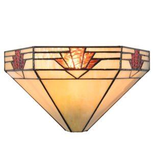 5LL-5213 - Wandlamp Tiffany - 31*15*17 cm