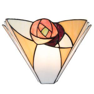 5LL-5214 - Wandlamp Tiffany - 30*14*19 cm