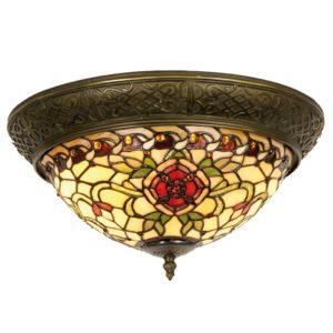 5LL-5356 - Plafondlamp Tiffany - Ø 38*19 cm