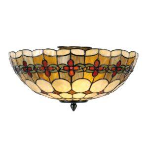 5LL-5416 - Plafondlamp Tiffany - Ø 40*24 cm