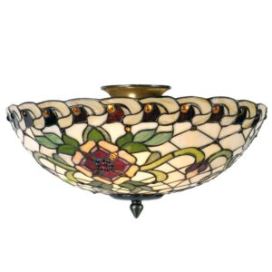 5LL-5419 - Plafondlamp Tiffany - Ø 40*25 cm