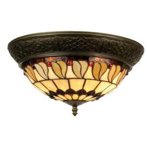 5LL-5547 - Plafondlamp Tiffany - Ø 38*19 cm