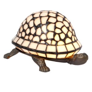 5LL-5843 - Lamp Tiffany Schildpad - 21*14*12 cm