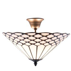 5LL-5890 - Plafondlamp Tiffany - Ø 42*29 cm
