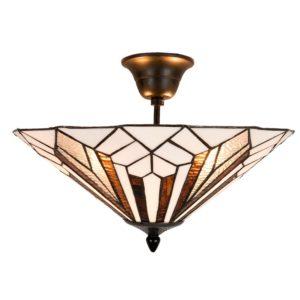 5LL-5896 - Plafondlamp Tiffany - Ø 40*28 cm