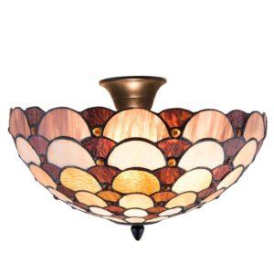 5LL-5904 - Plafondlamp Tiffany - Ø 41*29 cm