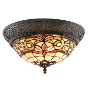 5LL-5909 - Plafondlamp Tiffany - Ø 38*20 cm
