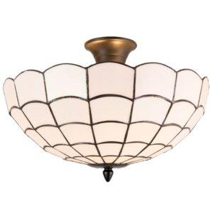 5LL-5932 - Plafondlamp tiffany - Ø 40*30 cm