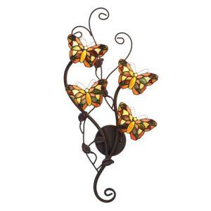 5LL-5979 - Wandlamp Tiffany Vlinder - 32*8*68 cm