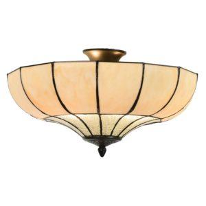 5LL-5982 - Plafondlamp Tiffany - Ø 46*25 cm