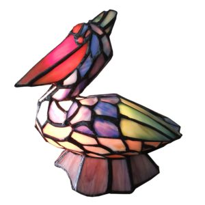 5LL-6003 - Tafellamp Tiffany - 24*19*31 cm
