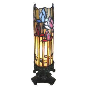 5LL-6010 - Tafellamp Tiffany - 10*10*33 cm