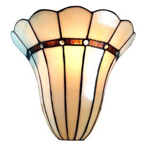 5LL-6015 - Wandlamp Tiffany - 28*18*33 cm