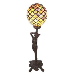 5LL-6024 - Tafellamp Tiffany - 21*21*51 cm