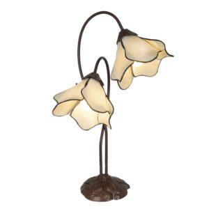 5LL-6048 - Tafellamp Tiffany - 41*23*57 cm
