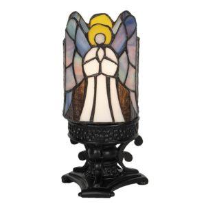 5LL-6052 - Tafellamp Tiffany Engel - Ø 14*21 cm