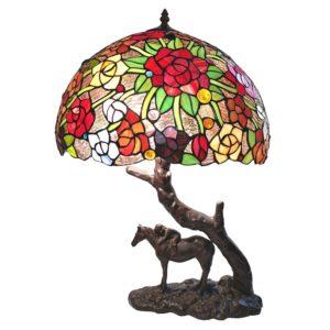 5LL-6061 - Tafellamp Tiffany - Ø 43*58 cm