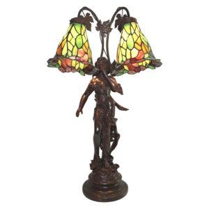 5LL-6062 - Tafellamp Tiffany Engel - 50*28*84 cm