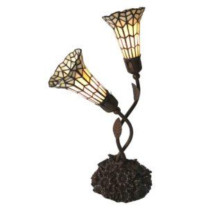 5LL-6063 - Tafellamp Tiffany - 34*25*58 cm