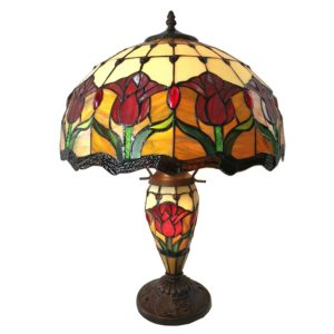 5LL-6071 - Tafellamp Tiffany - Ø 41*57 cm