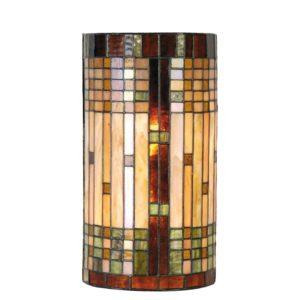 5LL-9112 - Wandlamp Tiffany - 20*11*36 cm