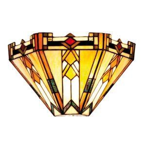 5LL-9263 - Wandlamp Tiffany - 31*13*20 cm