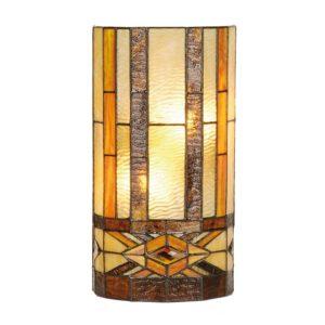 5LL-9286 - Wandlamp Tiffany - 20*11*36 cm