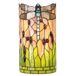 5LL-9292 - Wandlamp Tiffany - 20*11*36 cm