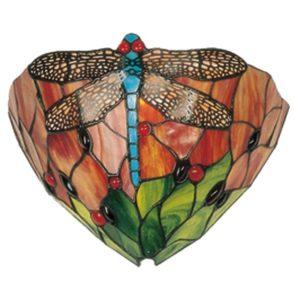 5LL-9312 - Wandlamp Tiffany - 30*15*20 cm