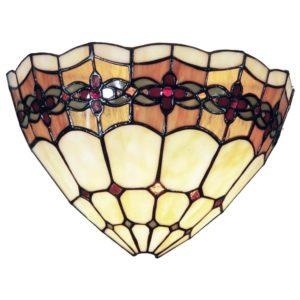 5LL-9884 - Wandlamp Tiffany - 30*14*20 cm