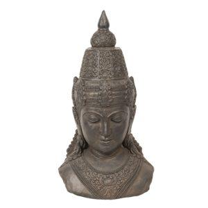 5PR0057 - Decoratie Buddha hoofd - 40*29*71 cm