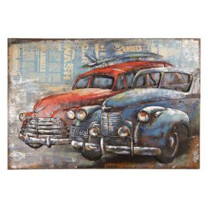 5WA0159 - Wanddecoratie auto's - 120*7*80 cm