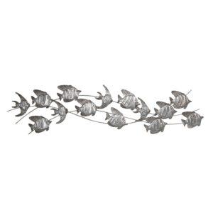 5Y0456 - Wanddecoratie vissen - 118*1*32 cm