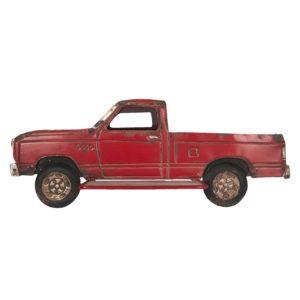 5Y0516 - Wanddecoratie vrachtauto - 69*27*14 cm