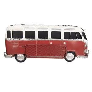5Y0518 - Wanddecoratie bus - 89*15*40 cm