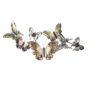 5Y0531 - Wanddecoratie vlinders - 105*52*6 cm