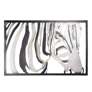5Y0688 - Wanddecoratie Zebra - 85*3*55 cm