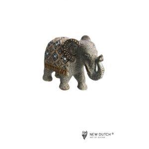 600253 - Mirror Elephant - 17x13cm